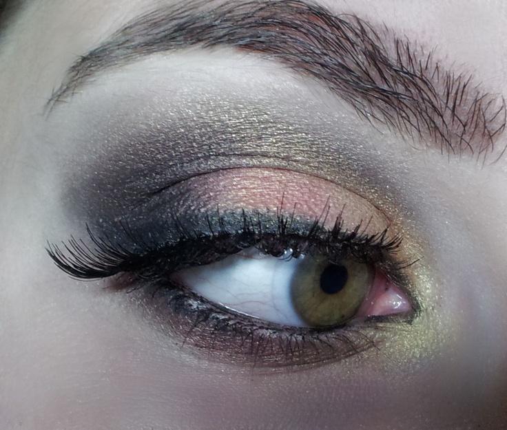 Bronze and gold makeup: Bronze, Gold Makeup