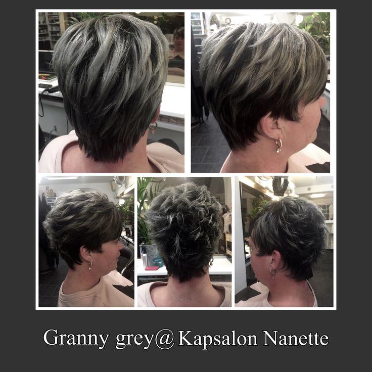Haircut and color@Kapsalon Nanette