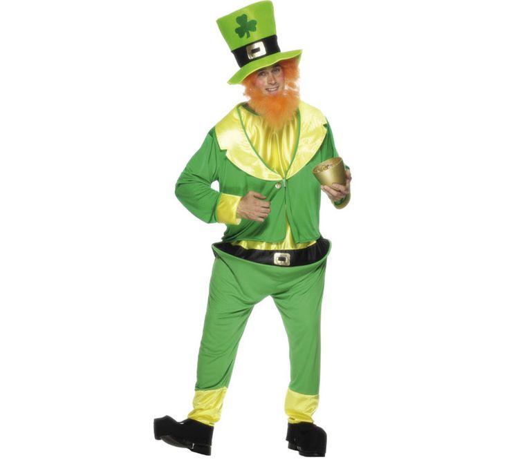 #Disfraz de #Duende Verde #Irlandés #Leprechaun para Hombre. #saintpatrick #stpatrick #sanpatricio #disfraces #disfrazzes #costume #costumes #beer