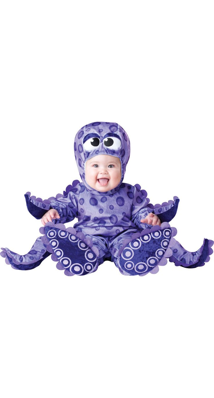 Tiny Tentacles Octopus Baby Costume