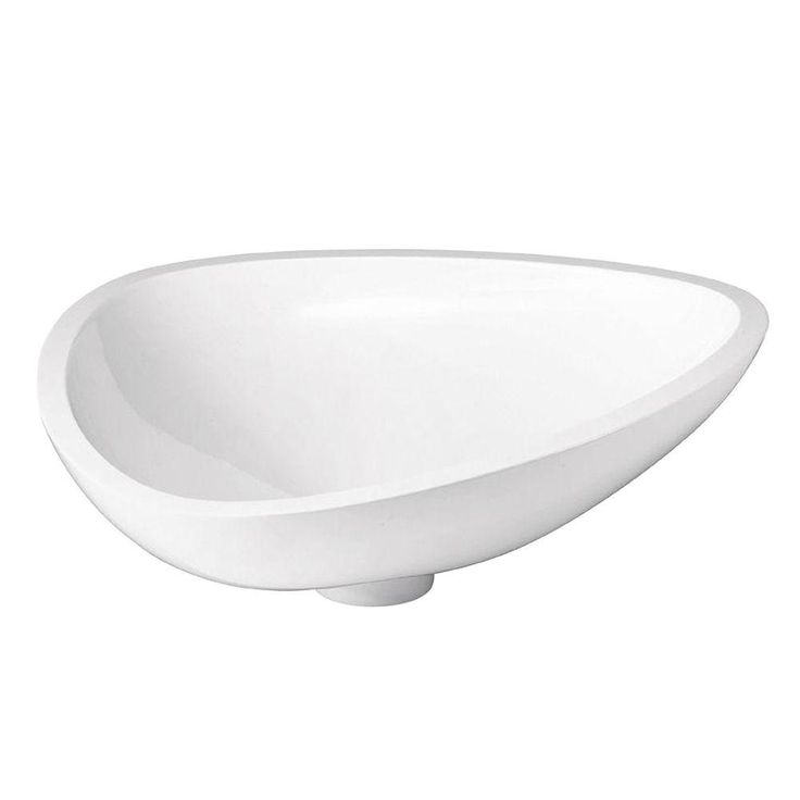 Hansgrohe Axor Massaud Small Vessel Sink in White