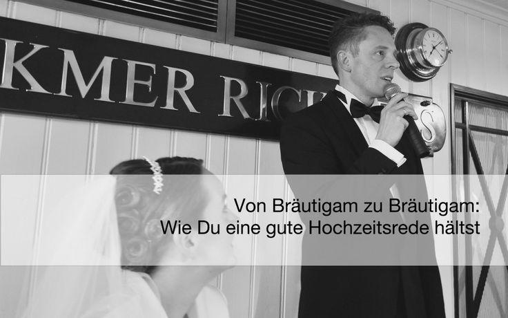 #Bräutigam: Hab' keine Angst vor der #Hochzeitsrede. In diesem Artikel will ich allen Männern Hilfestellung bei der Erstellung der Rede geben. Es ist ganz einfach!