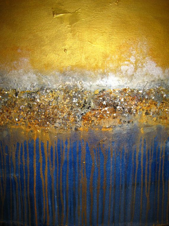 Abstract Painting 70 x 30 HUGE Original Abstract di artoftexture