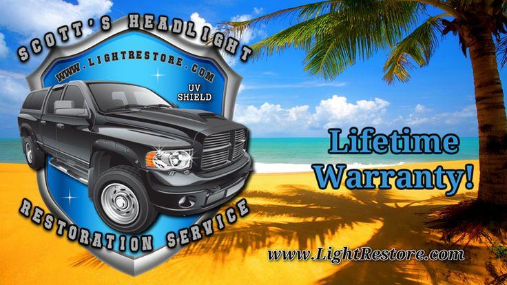 Scott's Mobile Headlight Restoration Service - Citrus County, FL. - a klosebuy business!