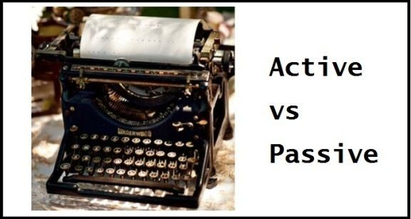 how to avoid the use of was in passive writing
