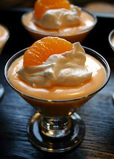 Creamsicle Pudding - only 4 ingredients AND it's low cal!!