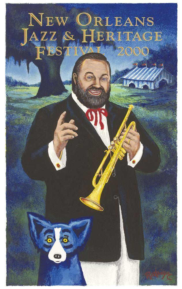Al Hirt Jazz Fest poster.