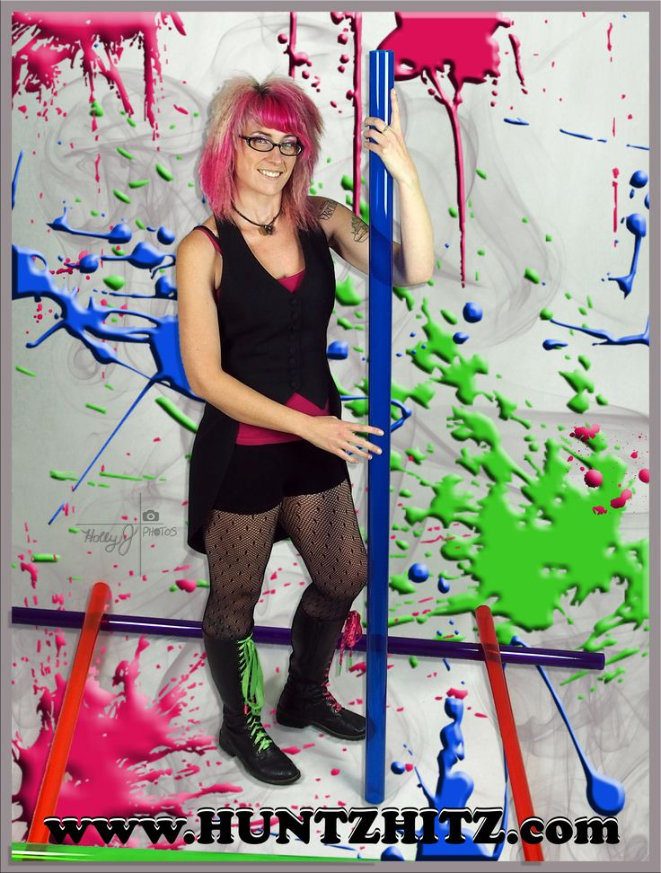 Quinn's world turned quite colorful at our most recent Huntz Hitz Shoot! Custom acrylic bongs by www.huntzhitz.com - This is how it all begin's.