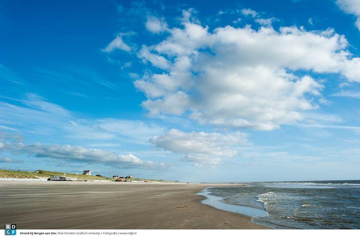 Strand bij Bergen aan Zee 2 | Rob Donders Grafisch ontwerp + Fotografie