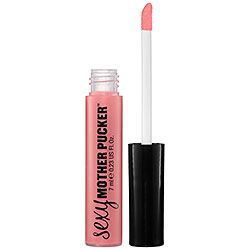 Soap & Glory Super-Colour Sexy Mother Pucker™ Lip Plumping Gloss in Baby Doll - sheer pink/chocolate raspberry flavor #sephora