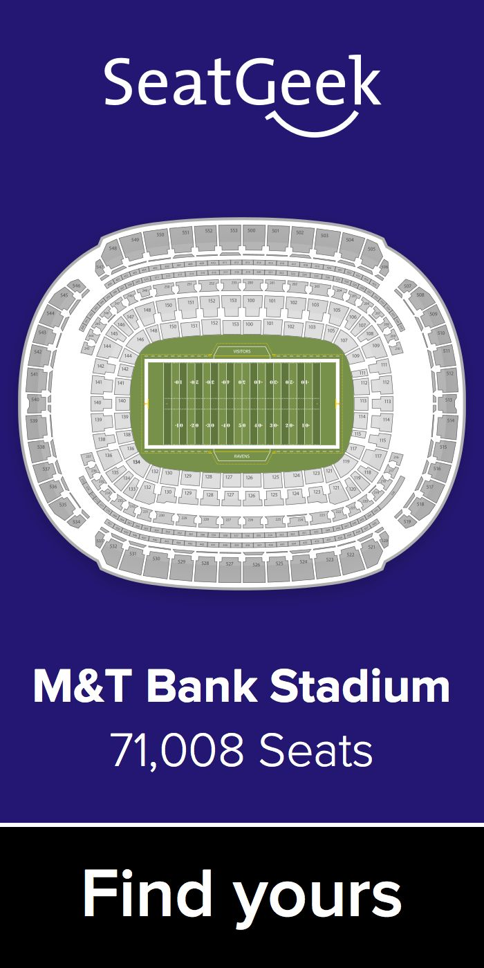 The best deals for Ravens tickets are on SeatGeek!