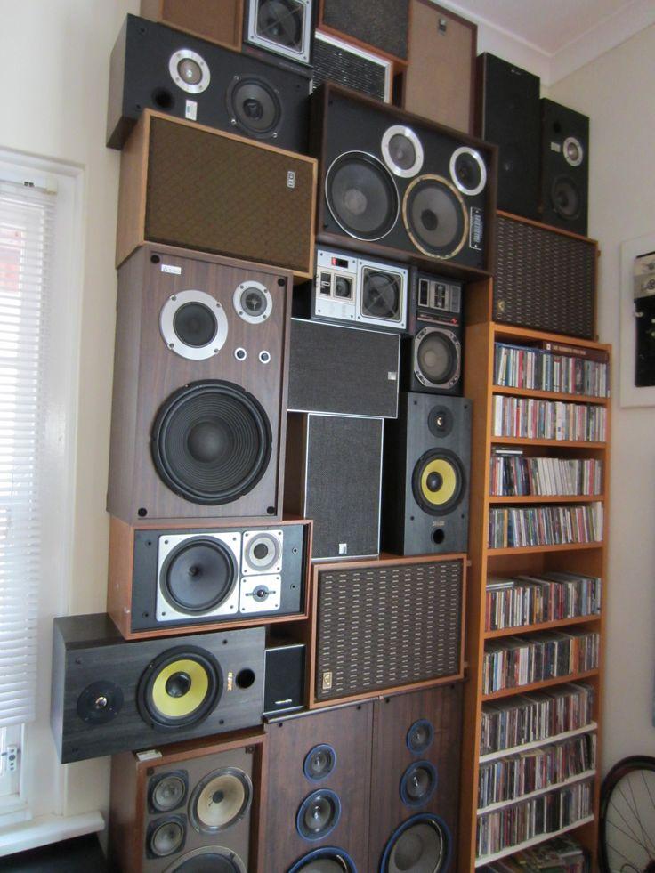My speaker wall. :)