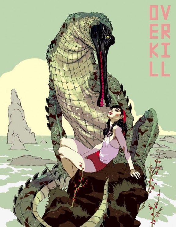 If you can find Tomer Hanuka book Overkill buy it! His illustrations are amazing.