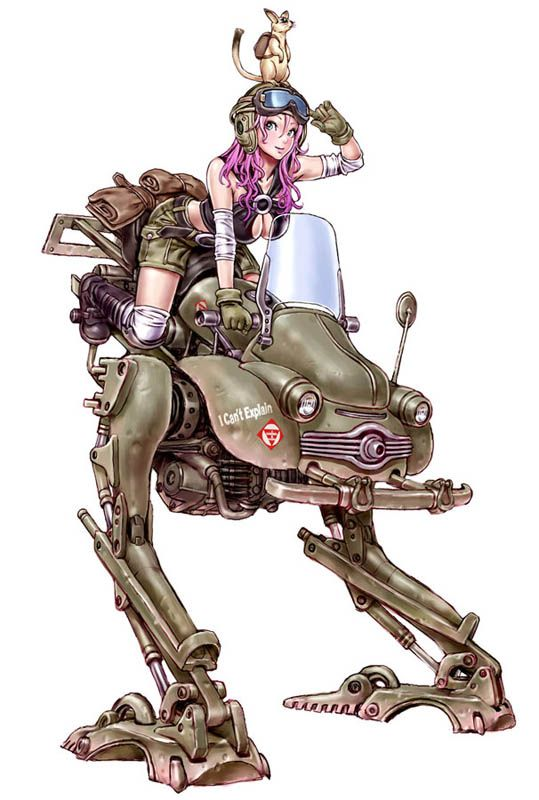 Give me one example of what you consider to be dieselpunk - Dieselpunks