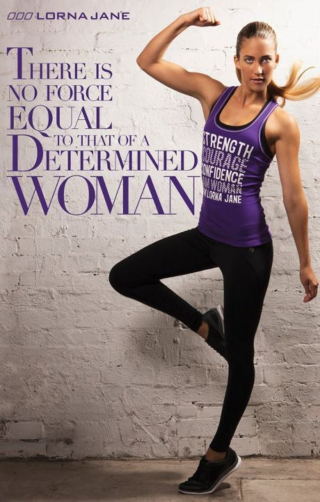 Power of a determined woman