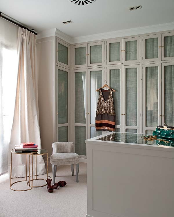 master-closet-decorating-ideas    Behind closed doors and organized!   --Shared by WhatnotGems.Etsy.com