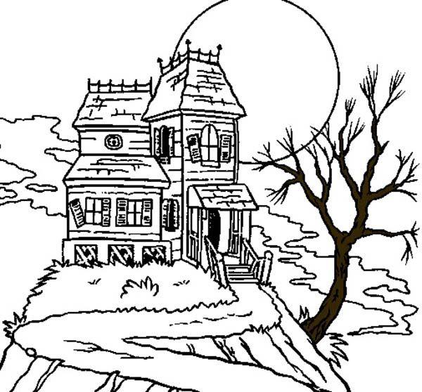Haunted Mansion Movie Set