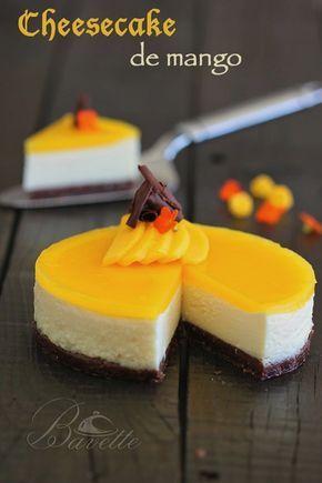 Cheesecake de mangoBavette   Bavette