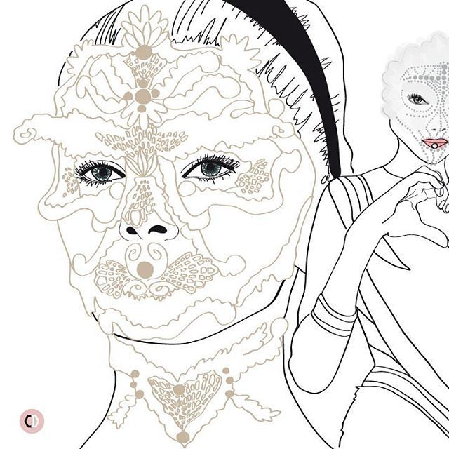 Sketchy memories of #PFW #SS16  Givenchy ___  #coffeedential #fashion #paris #fw #fashionweek #runway #illustration #Givenchy #RiccardoTisci #ChiaraRigoni
