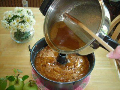 Apple Dabble Cake - My FAVORITE cake to make in the fall. The wonderful thing about this cake ( I do mean WONDERFUL) is that the resulting flavor is a perfect blend of fresh apples and buttery brown sugar. With the special sauce poured over the cake and allowed to soak in before removing the cake from the pan.