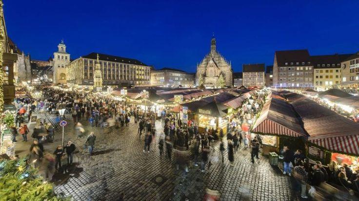 mercadillos navideños alemanes - Nuremberg