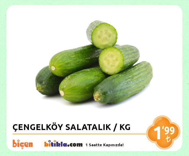 #Manav Reyonumuzda Bugün; #Çengelköy #Salatalık KG 1,29₺ Ayrıca #Bitıkla http://www.bitikla.com/ 'la 1 Saatte kapınızda.