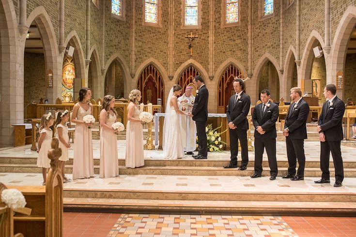 St. Joseph's Basilica Catholic church ceremony || Edmonton Wedding Planner || A Modern Proposal Event Planning