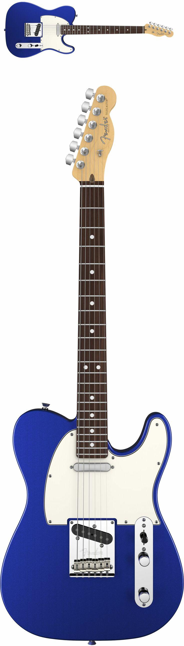 Fender American Standard HSS Stratocaster 2012 Mystic Blue Rosewood