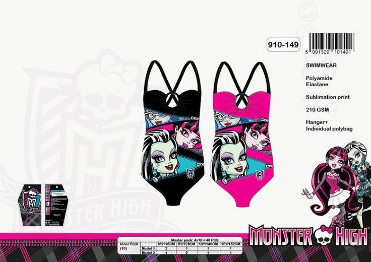 Maillot de bain Monster High ref 95