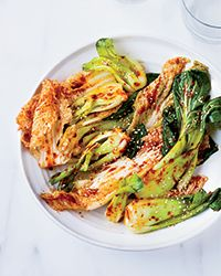 Fresh Cabbage Kimchi CONTRIBUTED BY KAY CHUN ACTIVE: 15 MIN TOTAL TIME: 1 HR 15 MIN SERVINGS: 6 CUPS HEALTHY MAKE-AHEAD STAFF-F...
