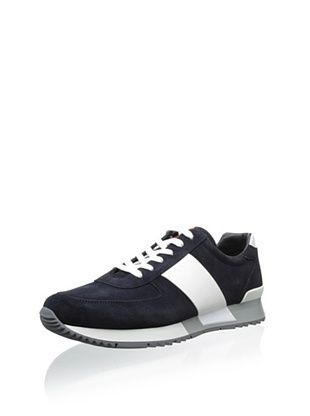 21% OFF Prada Men's Sneaker with Stripe (Blue/White)