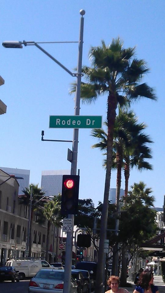 Rodeo Drive Los Angeles Vision Board Accomplished