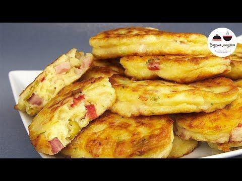 Оладьи в стиле ПИЦЦА Объедение! Необыкновенно вкусный, ароматный и питательный ЗАВТРАК - YouTube