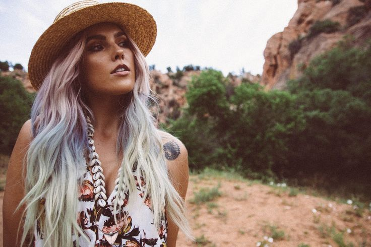 real-life mermaid @alexisjadekaiser rocking the Found by the Sea necklace by @ouroborosdesigns. available here: https://bohemiandiesel.com/shop/ouroboros-designs/