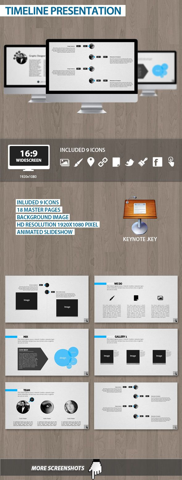 Timeline Presentation - Business Keynote Template. Download here: http://graphicriver.net/item/timeline-presentation/1784832?s_rank=878&ref=yinkira