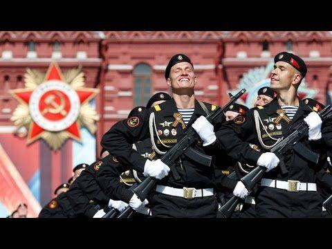 Ensayo general del desfile del Día de la Victoria en la Plaza Roja