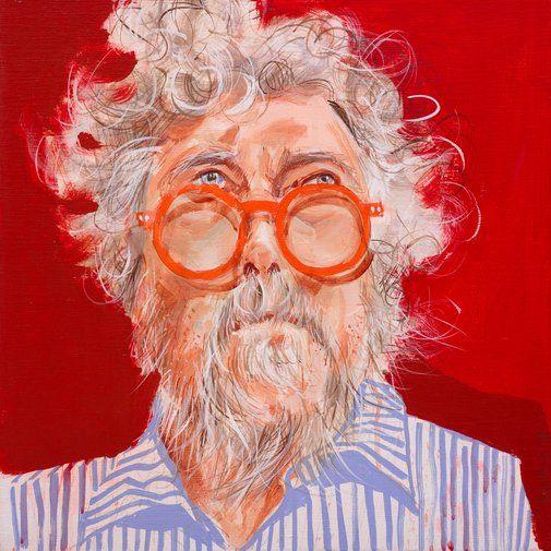 Luke, William H: Remy QC :: Archibald Prize 2017 :: Art Gallery NSW
