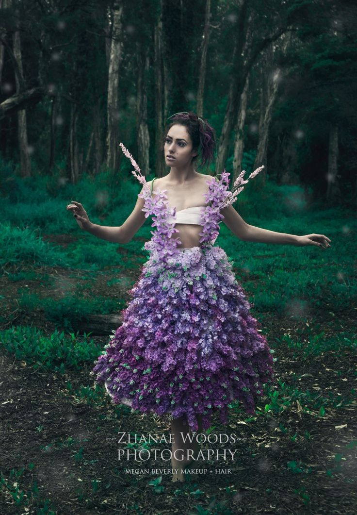 • Rise of the Guardians of Mother Nature • Part Twelve • Blossom • Makeup by Megan Beverly - Model, Dress and #photography by Zhanae Woods