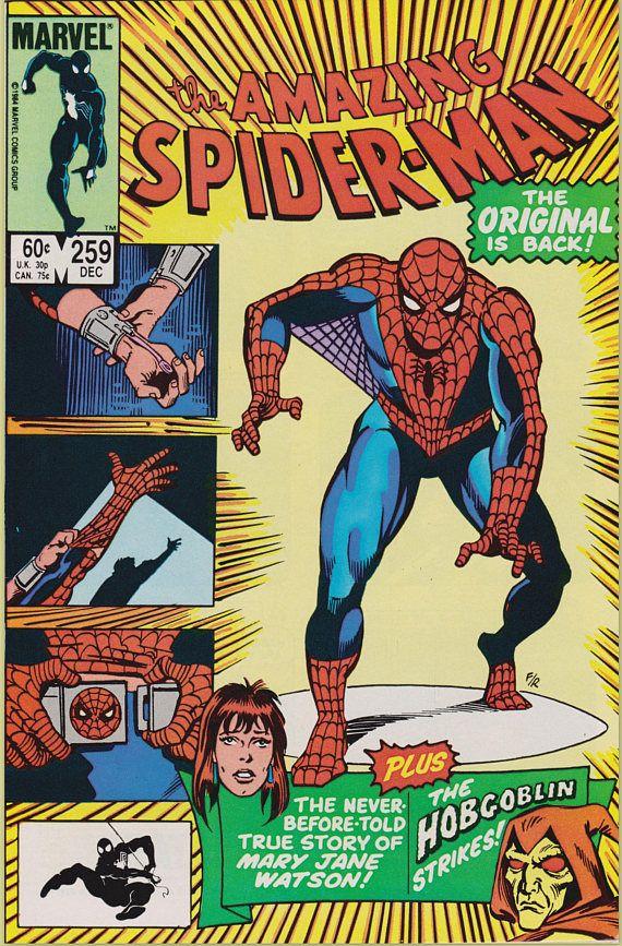 Amazing Spider-Man 259 1963 1st Series December 1984