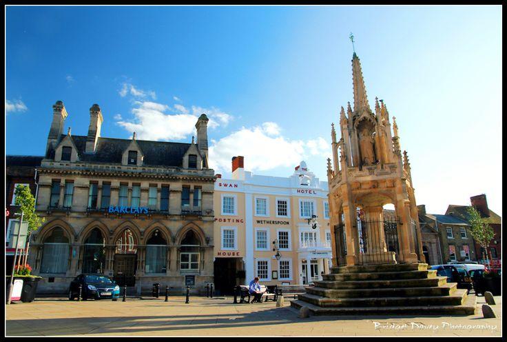 The Market Square, Leighton Buzzard, Bedfordshire