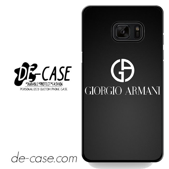 Giorgio Armani Black Logo DEAL-4656 Samsung Phonecase Cover For Samsung Galaxy Note 7