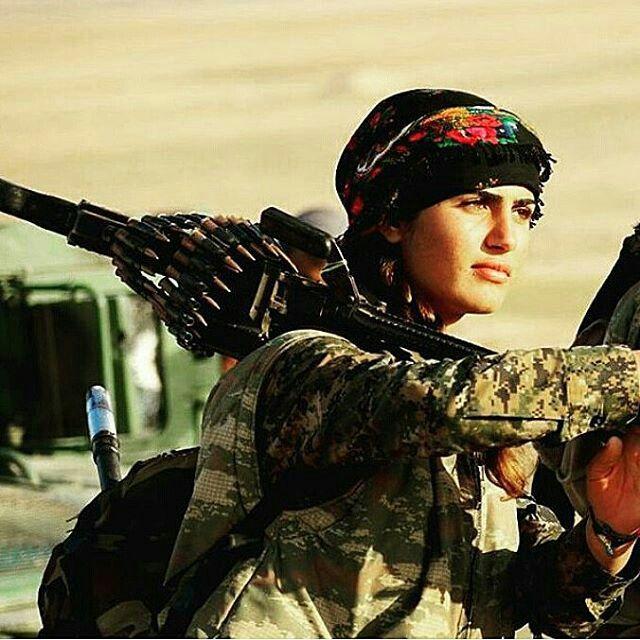 YPJ.Kurdish women