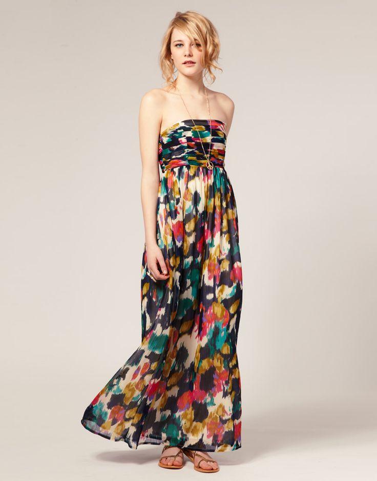 love the print.  ASOS PETITE Multi Smudge Print Maxi Dress $112.05: Long Summer Dresses, Smudge Prints, Print Maxi Dresses, Smudging Prints, Prints Maxi Dresses, Pretty Colors, Summer Maxi Dresses, Summer Colors, Asos Maxi
