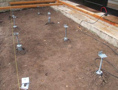 Plots B Ton Terrasse En Bois Utilisez Les Plots De Fondation