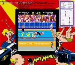 I played Mat Mania SO much. Best wrestling game ever! Well, I suppose... the only one I ever played at the arcade. I played Pro Wrestling for NES a lot, but otherwise wasn't into wrestling games much.