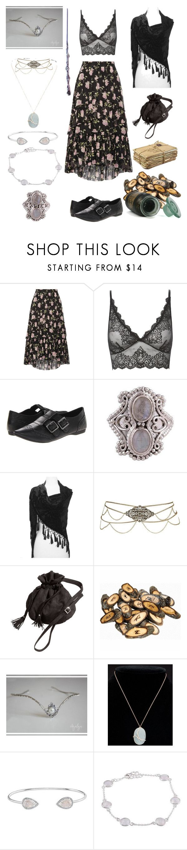 """""""Teen Witch"""" by mellamanellen ❤ liked on Polyvore featuring Ulla Johnson, Only Hearts, Rocket Dog, NOVICA, Rune NYC, Meira T and Anne Sisteron"""