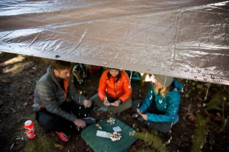 12 tips for Camping in the rain.  REI