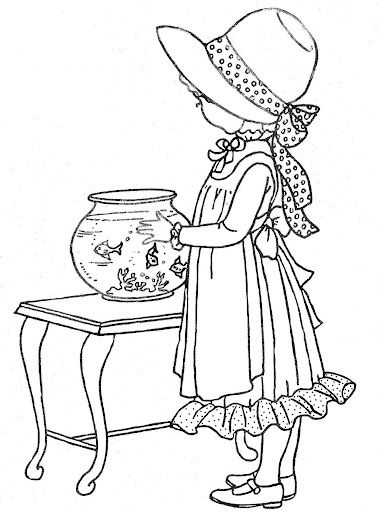 old fashioned coloring pages free - photo#14