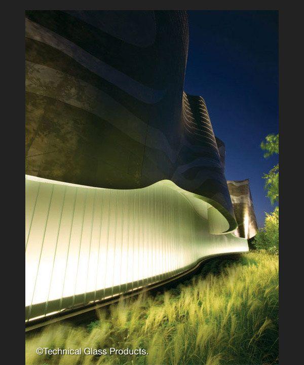 Project: Neiman MarcusbrLocation: Natick, MAbrArchitect: Elkus Manfredi ArchitectsbrProduct: Pilkington Profilit™ translucent channel glass system