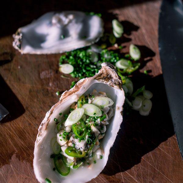 Guerilla Rezepte - Austern Tartar